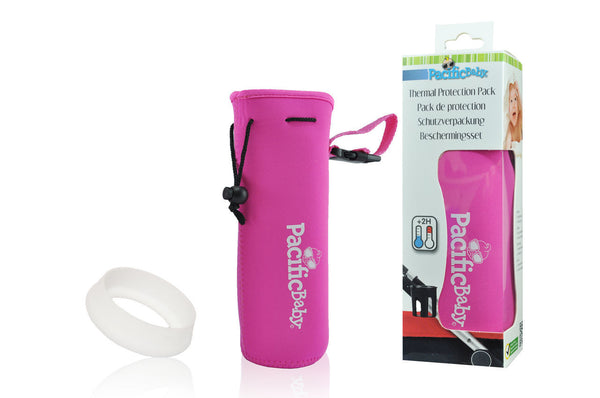 Pacific Baby Bottle Protection Pack, Pink