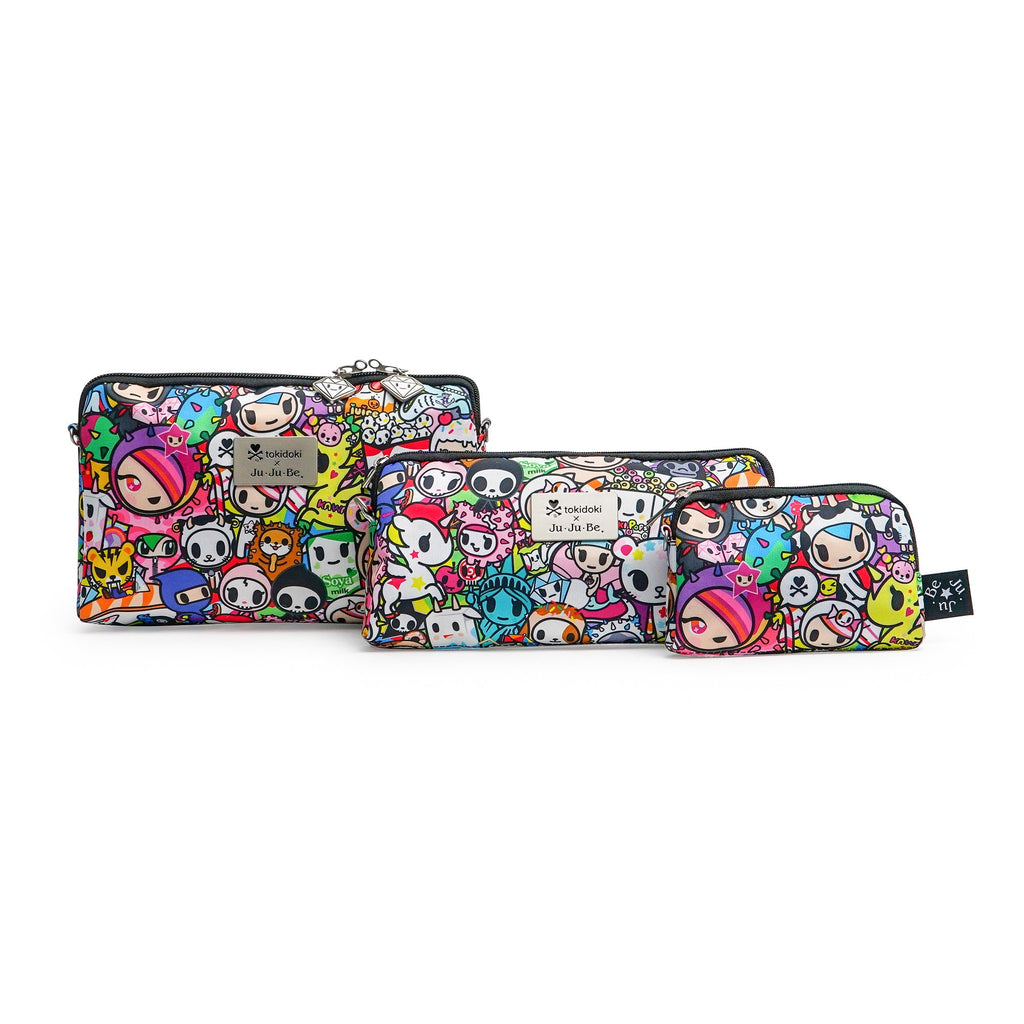 Ju-Ju-Be x Tokidoki Be Set pouch set in Iconic 2.0 *