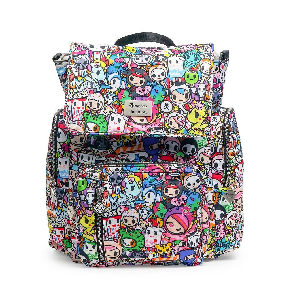 OUTLET - Ju-Ju-Be x Tokidoki Be Sporty diaper backpack in Iconic 2.0