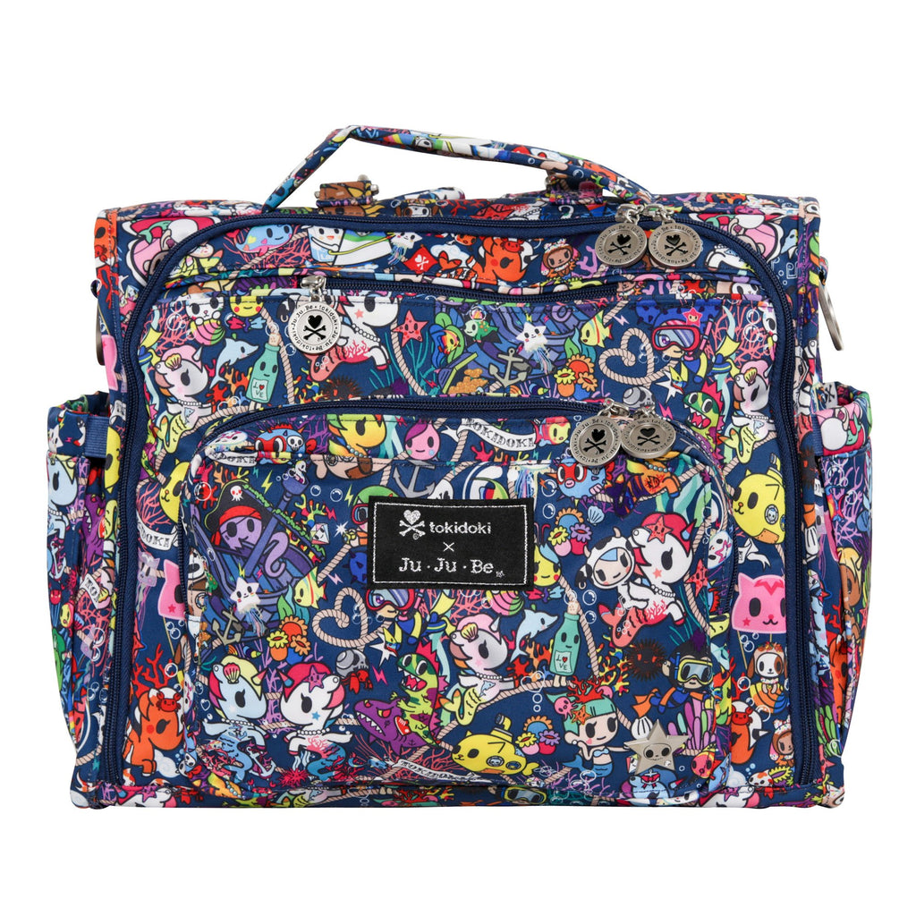 Ju-Ju-Be x tokidoki B.F.F. diaper bag in Sea Punk *