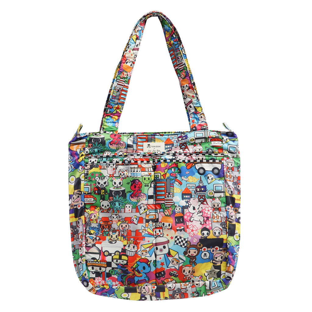 Ju-Ju-Be x Tokidoki Be Light changing bag in Sushi Cars *