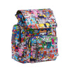Ju-Ju-Be x Tokidoki Be Sporty diaper backpack in Sushi Cars *