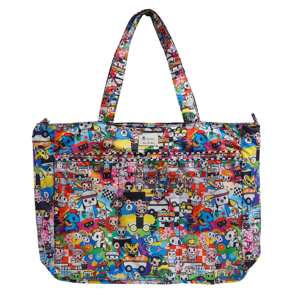 Ju-Ju-Be x Tokidoki Super Be bag in Sushi Cars *