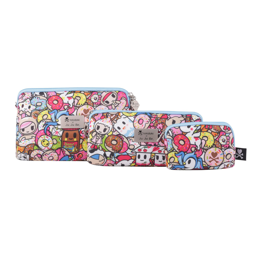 Ju-Ju-Be x Tokidoki Be Set pouch set in Tokipops *