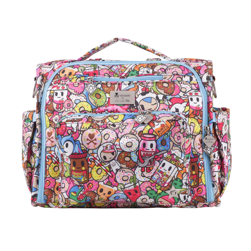 Ju-Ju-Be x tokidoki B.F.F. diaper bag in Tokipops *
