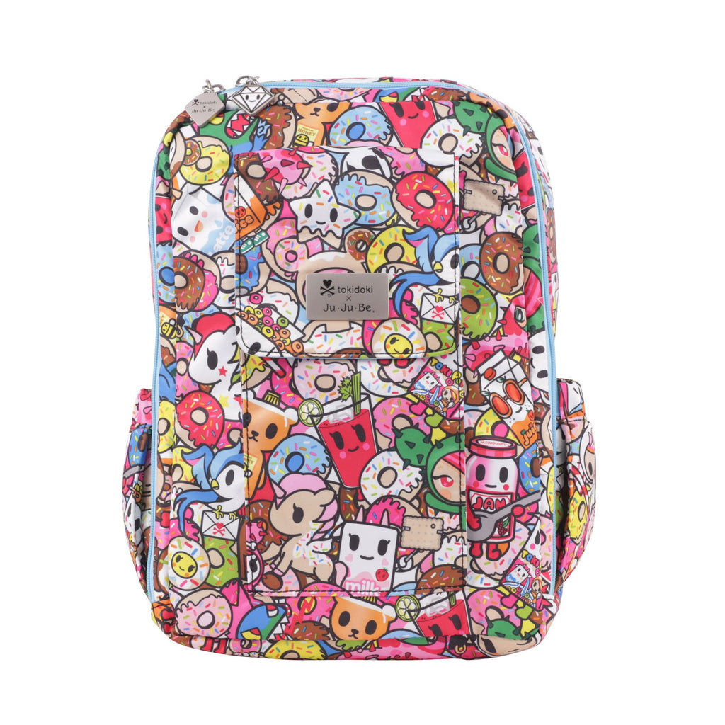 Ju-Ju-Be x Tokidoki Mini Be backpack in Tokipops *