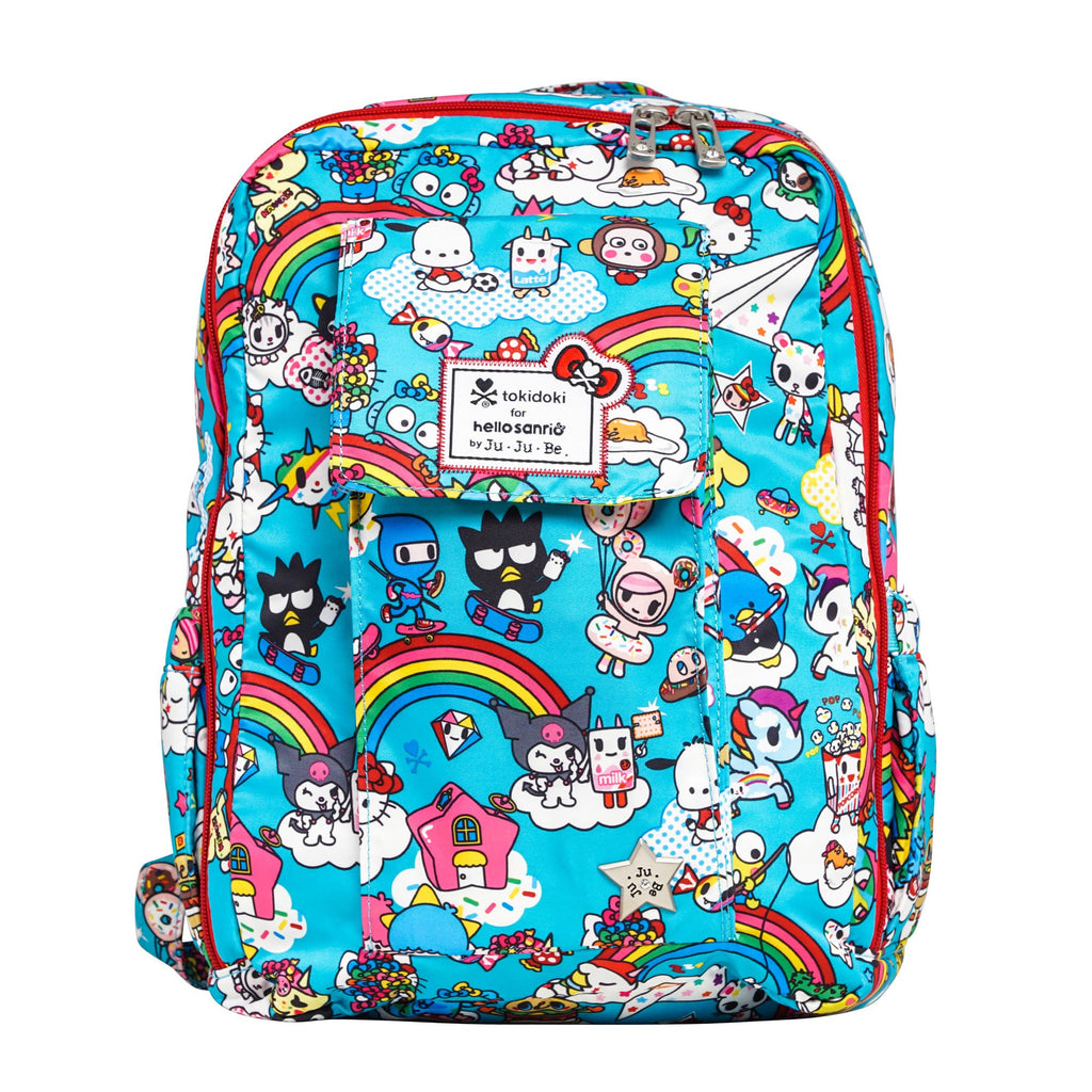 tokidoki for Hello Sanrio by Ju-Ju-Be Mini Be backpack in Rainbow Dreams*