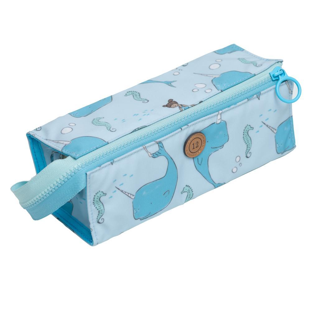 12Little x Sarah Jane Under the Sea Pencil Case in Blue