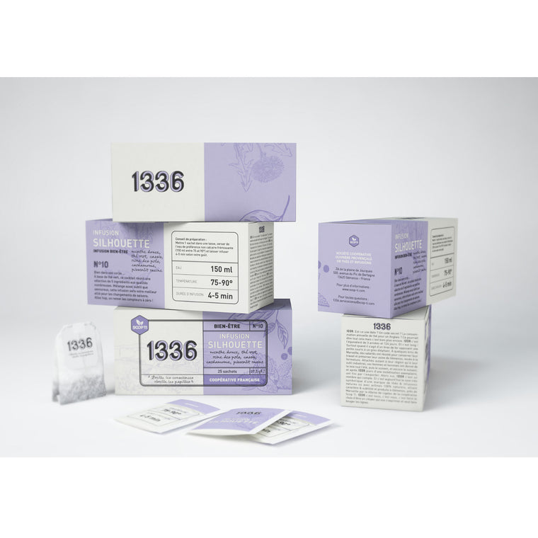 Scop ti Infusion silhouette 25 Sachets double chambre 37,5g