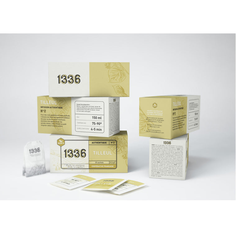 Scop ti Infusion Tilleul 25 Sachets double chambre 37,5g