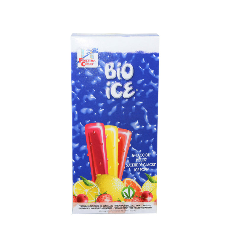 Bio Ice Sucettes de Glace Assorties Bio 10x40ml