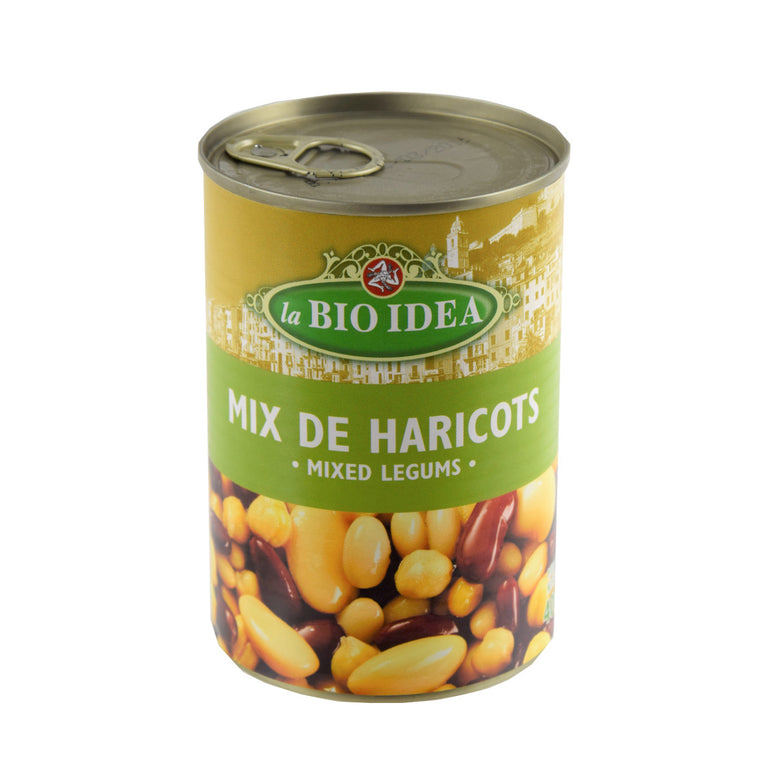 La Bio Idea Mix de 4 haricots Bio 400g