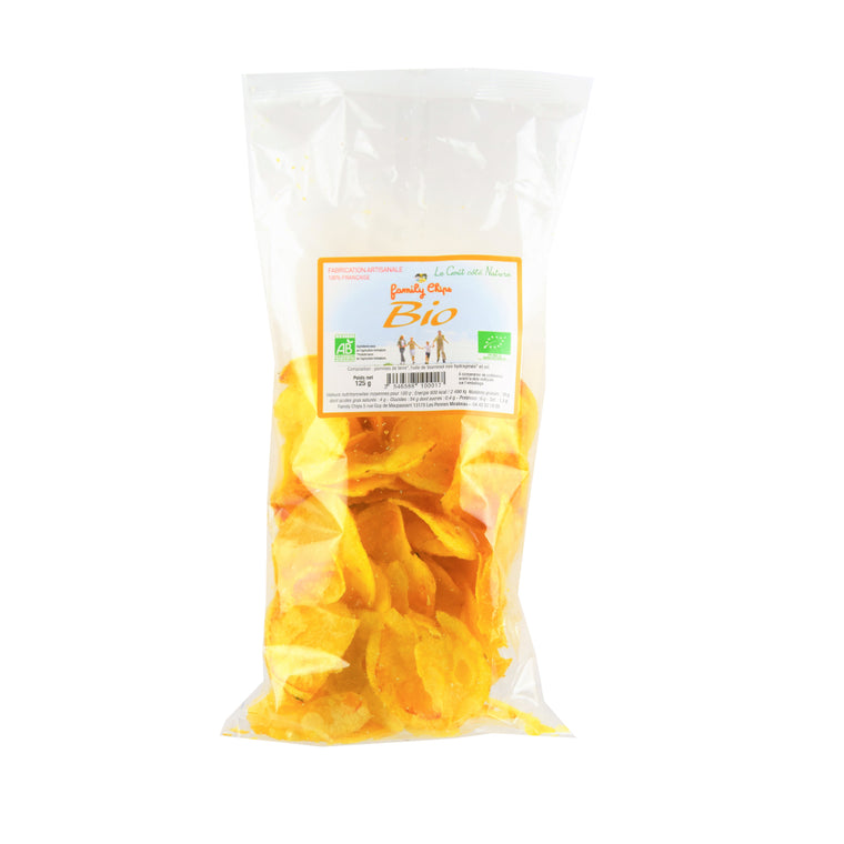 Family Chips Chips Bio Nature 125g