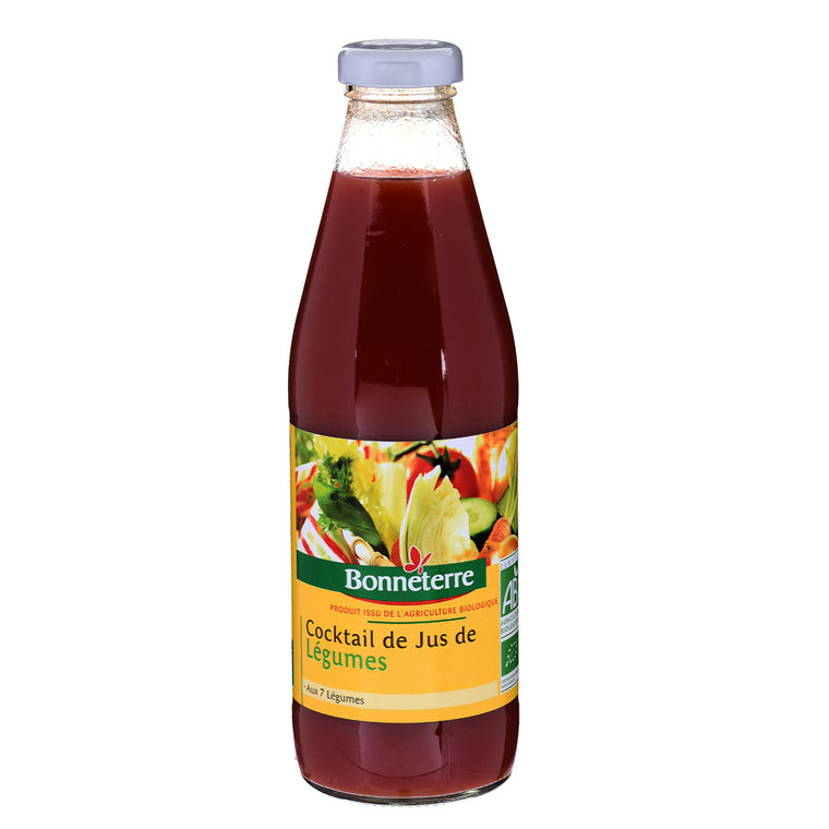 Bonneterre Cocktail de jus légumes Bio 75cl