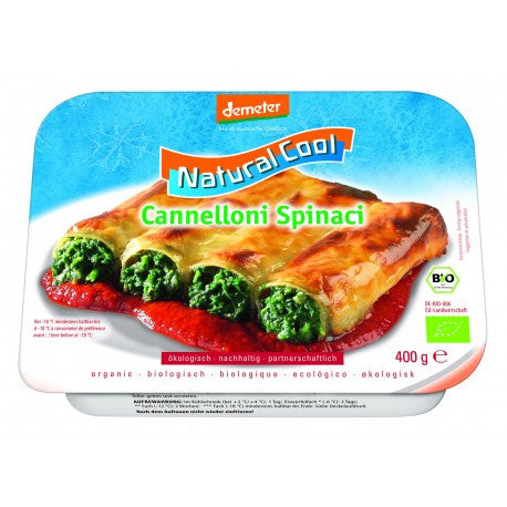 Natural Cool Cannelloni aux Epinards Bio 400g
