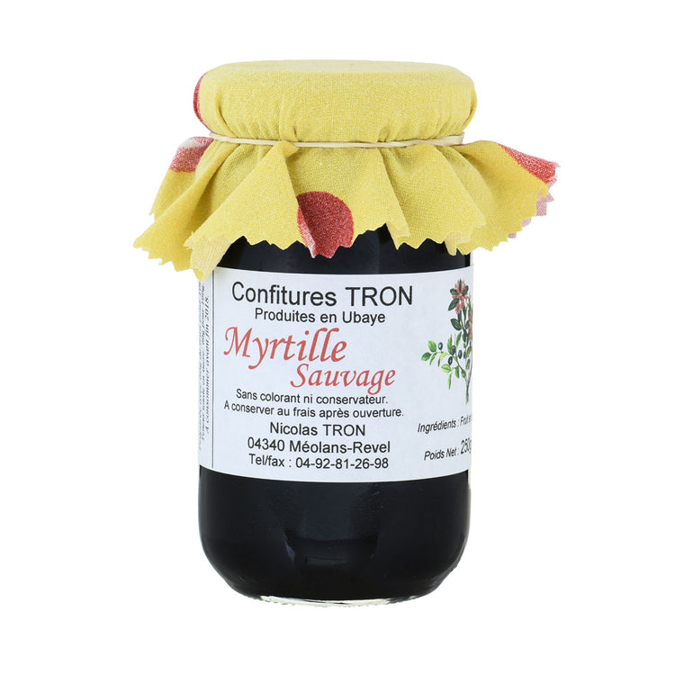 Confitures Tron Confiture Myrtille sauvage