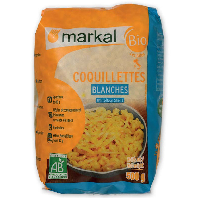 Markal Coquillettes blanches Bio 500g