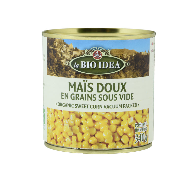 La Bio Idea Maïs doux en grains Bio 340g