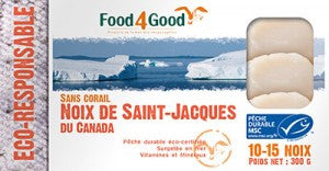 Food4Good Noix de Saint-Jacques Du Canada 300g
