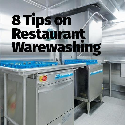 8 Tips on Restaurant Warewashing