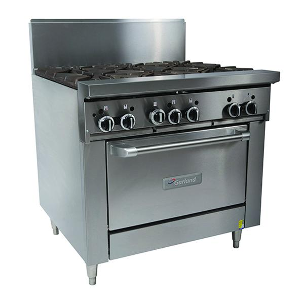 Garland 6 Burner Gas Oven Heavy Duty GF36-6R-NG