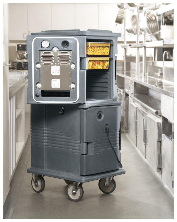 Cambro Heated Ultra Camcart H-Series 220V Slate Blue UPCH8002 401