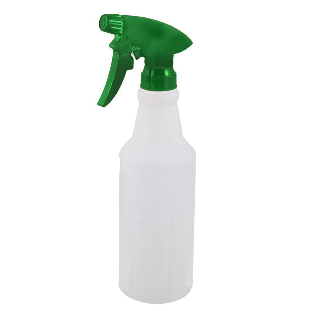 500ml Green Plastic Straight Spray Bottle Complete NB70S-G
