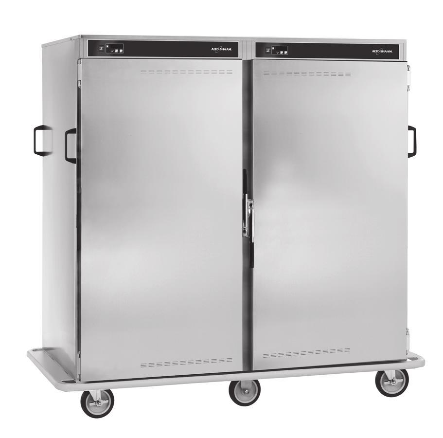 Alto-Shaam 1000-BQ2192 Banquet Cart-192 Plate Cap C/W Castrs Bumper And Handle