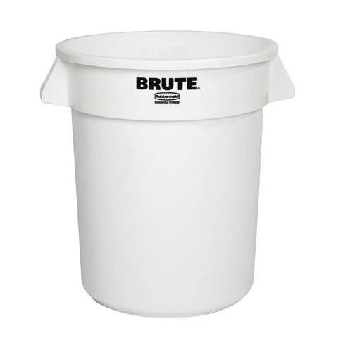 Rubbermaid Round Brute White Container 75.7Ltr