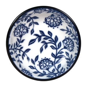 12PCE Gusta Out Of The Blue Flowers Dish 90mm