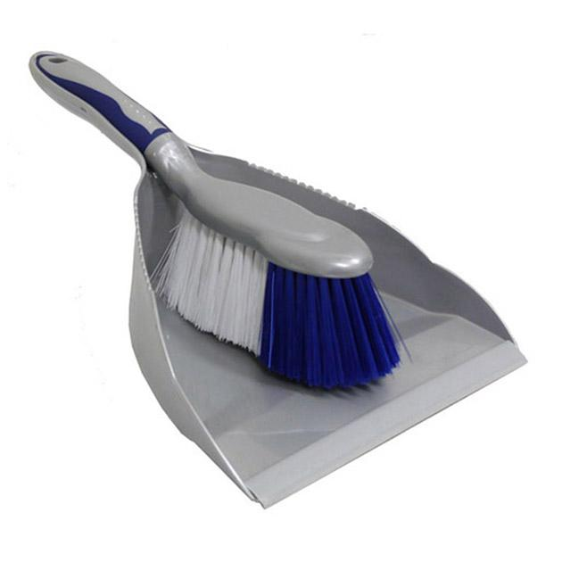 Deluxe Dust Pan with Brush BRWARE1