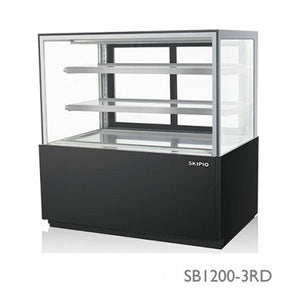 Skipio Bakery Case Rectangle - Three Tiers