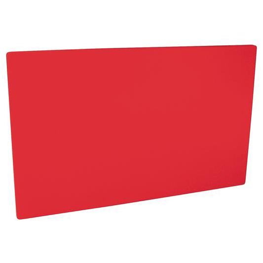 Cutting Board PE HD 530x325x20mm Red 48030-R