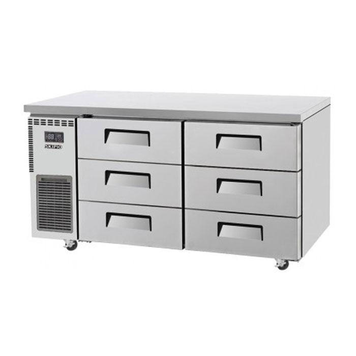 Skipio 425L Underbench Drawer Fridge SUR15-3D-6