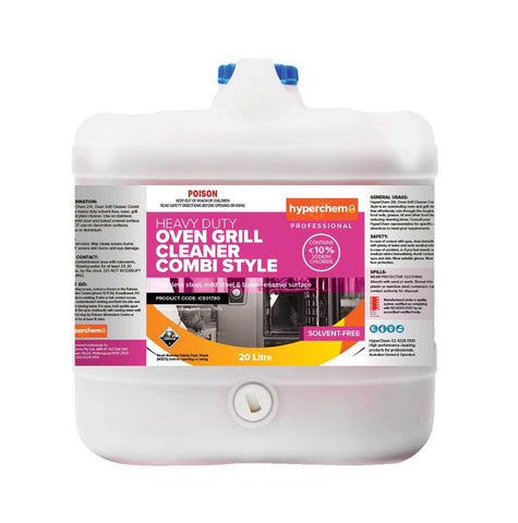 Hyperchem Combi Clean for Ovens - Less Than 10% Sod Hyd 20L 40903