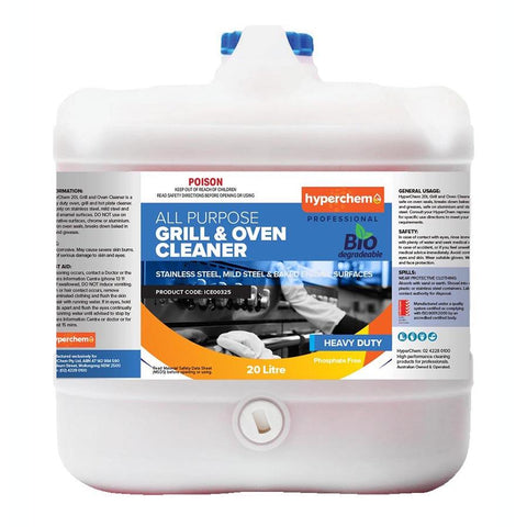 Hyperchem Grill & Oven Cleaner 20L 40803