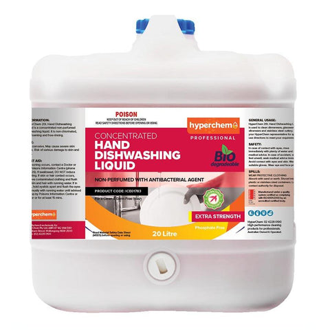 Hyperchem Hand Dishwashing Antibacterial Liquid 20L 10803