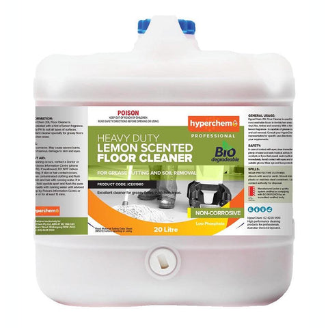 Hyperchem Lemon Scent Floor Cleaner 20L 38003