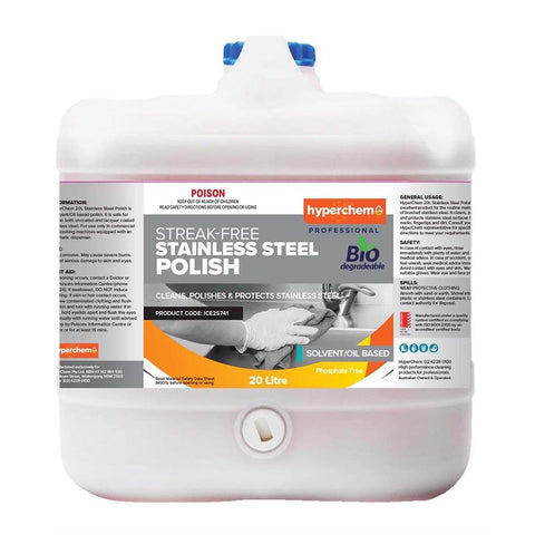 Hyperchem Stainless Steel Oil Polish 20L 41403