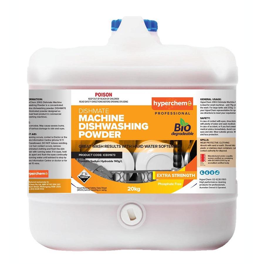 Hyperchem Dishmate Machine Diswashing Powder 20KG 51551