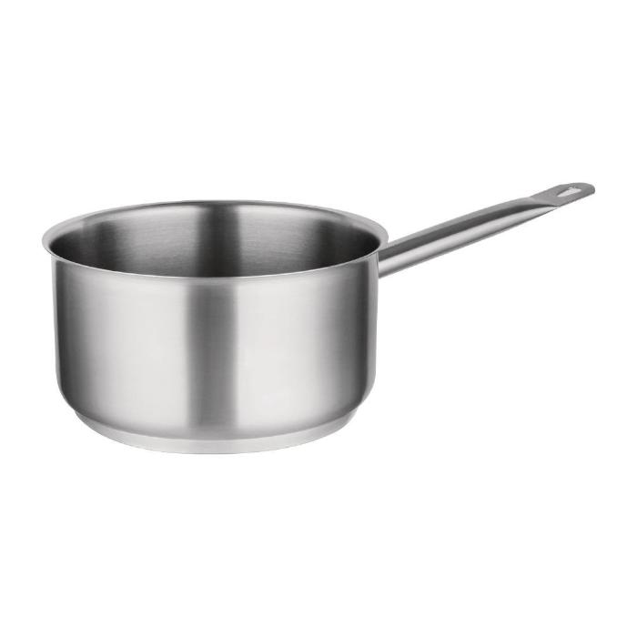 Vogue Stainless Steel Saucepan 3Ltr