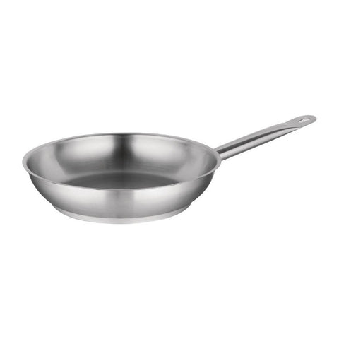 Vogue Stainless Steel Frying Pan 280mm