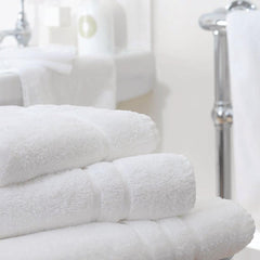 Mitre Comfort Nova Bath Towel White - icegroup hospitality superstore