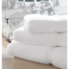 Mitre Comfort Riviera Bath Towel White - icegroup hospitality superstore