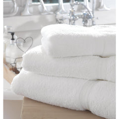 Mitre Comfort Riviera Bath Sheet White - icegroup hospitality superstore