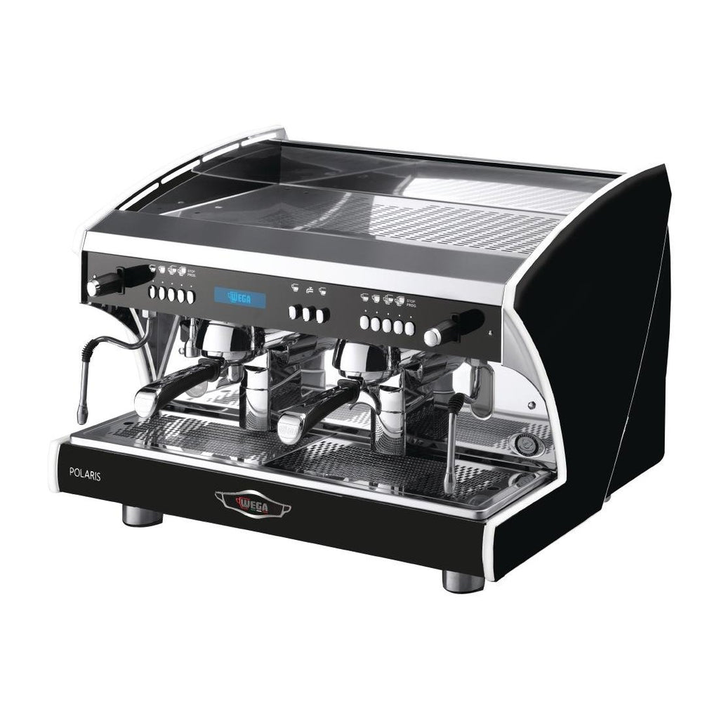 Wega Polaris Tron EVD 2 Group Coffee Machine Black EVD2PR15