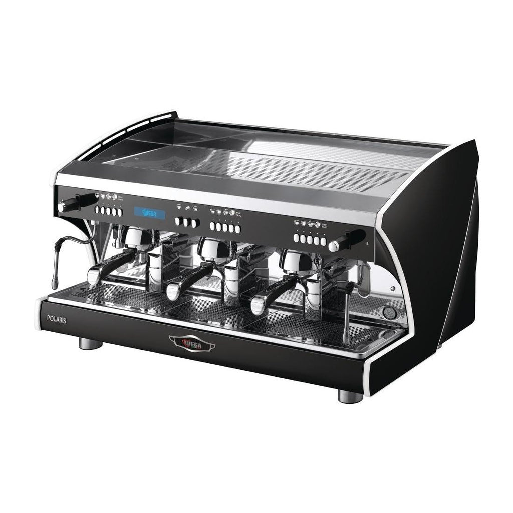 Wega Polaris Tron EVD 3 Group Coffee Machine Black EVD3PR15