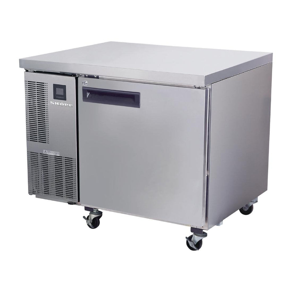 Skope Pegasus PG200 Single Door Gastronorm Counter Fridge
