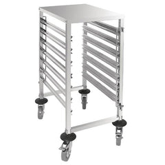 Vogue 7 Level Gastronorm Racking Trolley