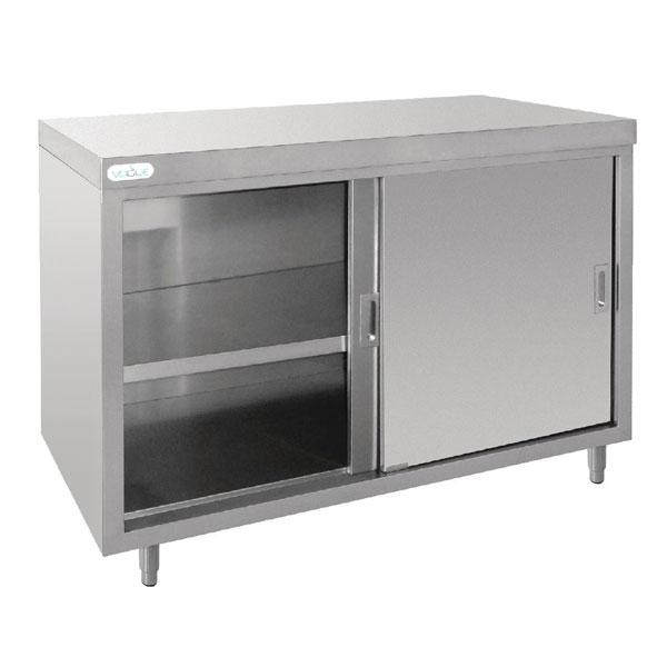 Vogue 1200mm Stainless Steel Floor Standing Cupboard
